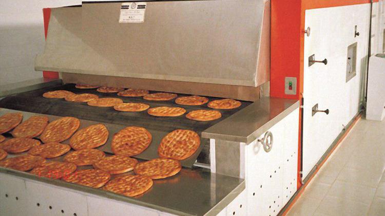 خط تولید نان صنعتی