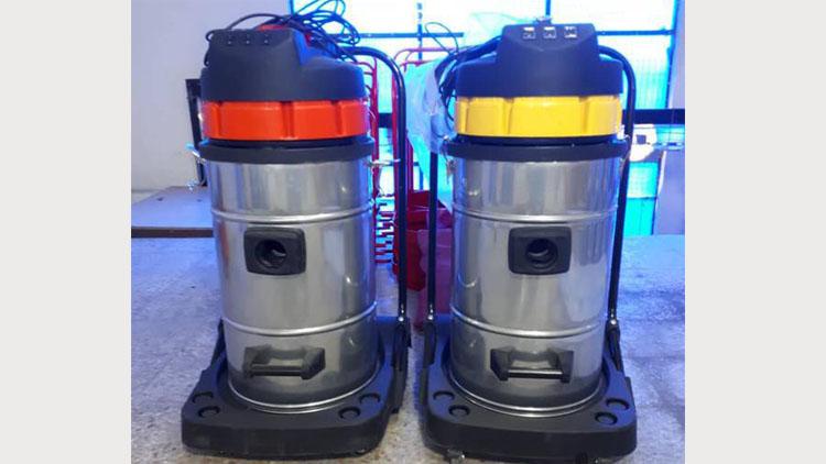جارو برقی صنعتی سه موتور