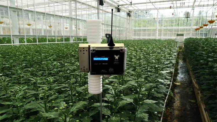 سنسور بی سیم دما و رطوبت و دی اکسید کربن