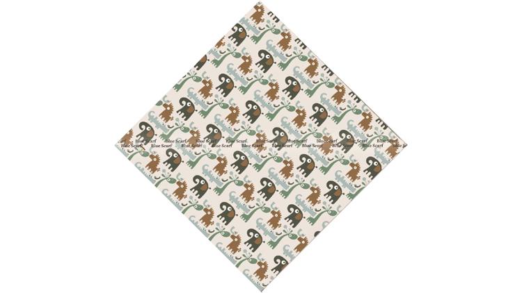 روسری نخی سبک سازی شده دور دست دوز کد 8051411