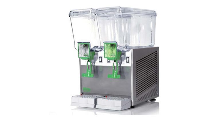 دستگاه شربت سردکن دومخزن پارویی براس