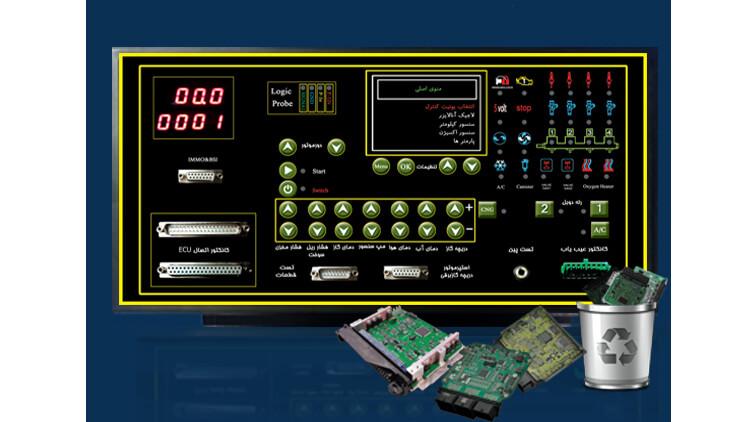 تستر ECU هوشمند TDE-4