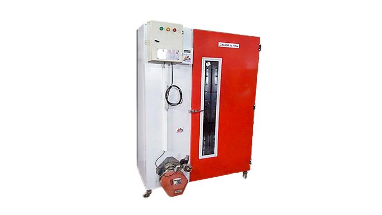 دستگاه میوه خشک کن و سبزی خشک کن صنعتی 35 سینی گازی مدل AS80