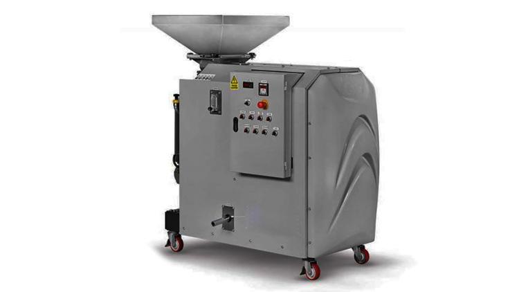 دستگاه روغن گیری و روغن کشی زیتون سه فاز مدل prof50