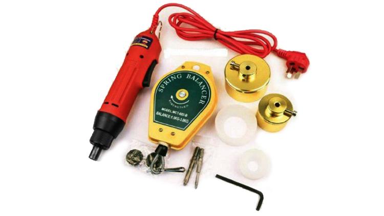 دستگاه دربند بطری دستی سه هد برقی مدل 21666