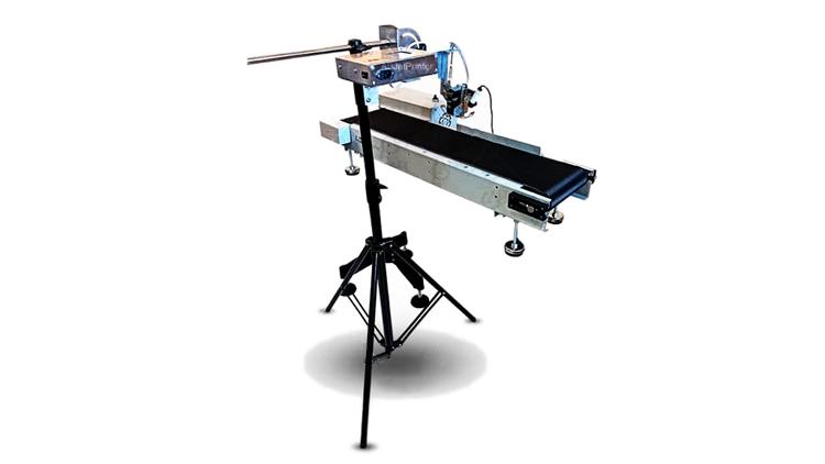 جت پرینتر صنعتی اتوماتیک با 2 هد مجزا و عرض چاپ 26 میلیمتر مدل21741