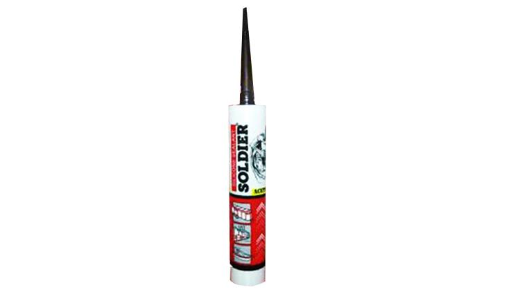 چسب سیلیکون سولجر ـ 180 گرم خالص