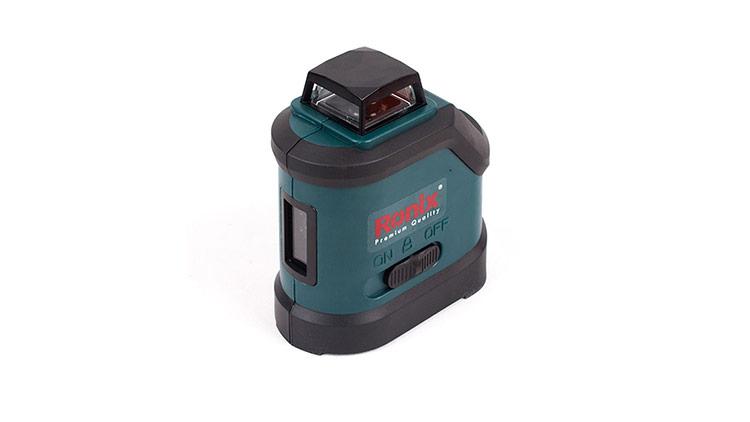 تراز لیزری دوخط 360 درجه رونیکس مدل RH-9502 , ابزار دقیق اندازه گیری