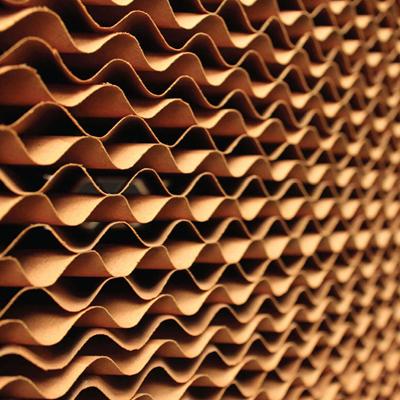 ازپد سلولوزی بطور خاص زمانی که احتیاج به سرعت هوای بالاتری باشد مانند پیش خنک کننده های توربینهای گازی. استفاده میشود.