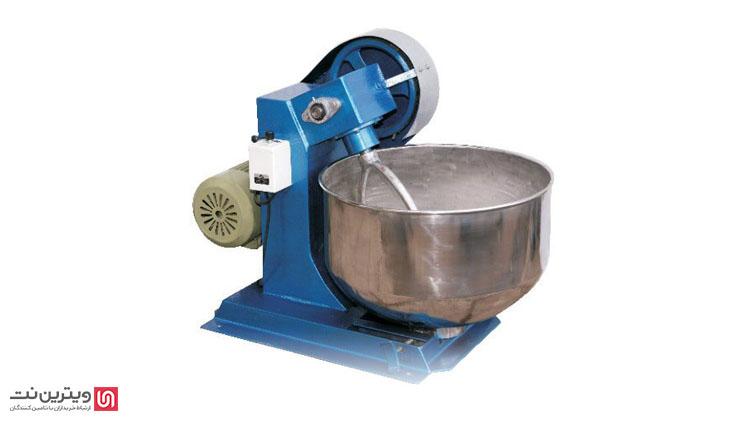دستگاه خمیرگیر برای گرفتن خمیر و ورز دادن آن مورد استفاده قرار می گیرد.
