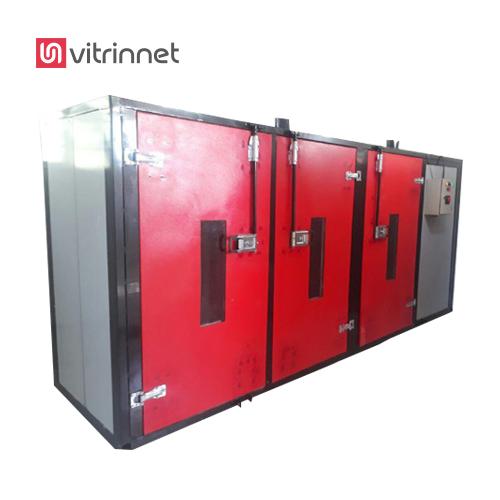 سیستم دستگاه خشک کن میوه و سبزیجات با ورودی ۵۰۰ کیلوگرم تمام اتوماتیک می باشد
