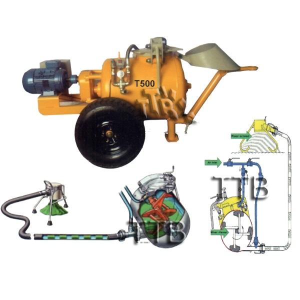 دستگاه انتقال مصالح-دستگاه انتقال مواد-قیمت دستگاه ملات پاش