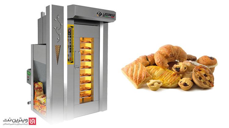 نحوه کارکرد فر گردان قنادی که از تجهیزات نانوایی و قنادی است، در مدل های مختلف تقریبا مشابه است.