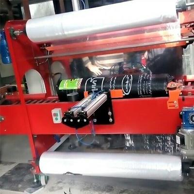 متریال دستگاه شرینگ اتوماتیک ایزوگام همراه با دستگاه شرینک پک ، با سفارش مشتری از قوطی ویا ورق چهار میل می باشد.