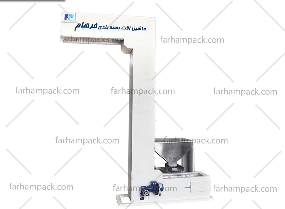 دستگاه بالابر حبوبات دارای سیستم عملکرد الکترومکانیک است.