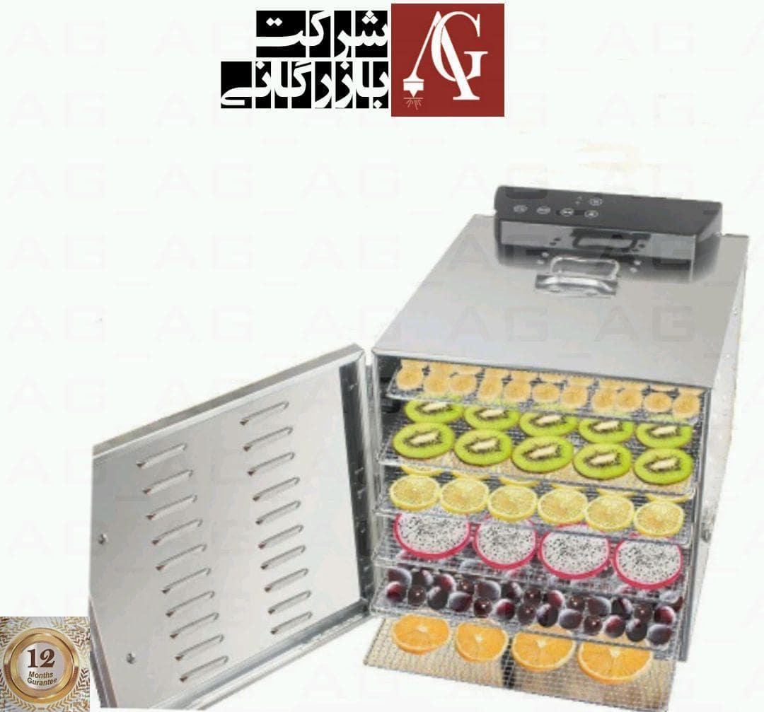 از دستگاه خشک کن میوه و سبزی در عطاری ،قنادی ،رستوران ها ، منازل و مغازه ها استفاده میشود