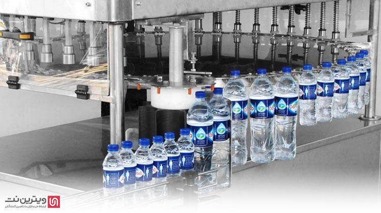 وجود بطری های زیست محور یا pet  در خط آب معدنی و پرکن لبنیات به کار گرفته می شوند
