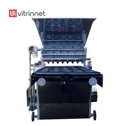 دستگاه قیف زن جهت تولید بازه وسیعی از محصولات که دارای خمیرهای سفت و نیمه سفت کاربرد دارد.