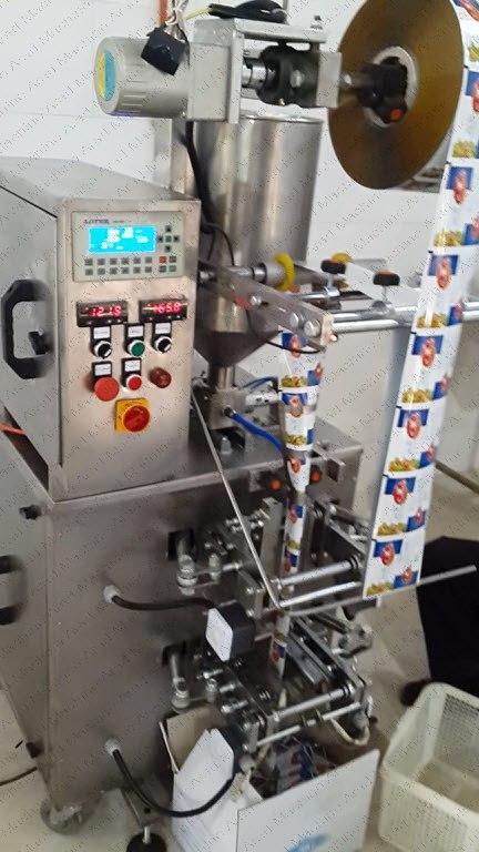 دستگاه ساشه پودری-دستگاه بسته بندی پودری-دستگاه ساشه گرانول-قیمت دستگاه ساشه گرانول و مواد پودری