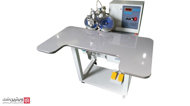 دستگاه نگین زن نیمه اتوماتیک در میان دستگاه های نگین زن دستی و اتوماتیک قرار می گیرند.
