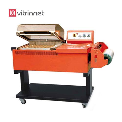 دستگاه شیرینگ کابینی یا کابینتی جهت بسته بندی و کشیدن سلفون و پلاستیک به دور محصولات کوچک و سبک مورد استفاده قرار میگیرد