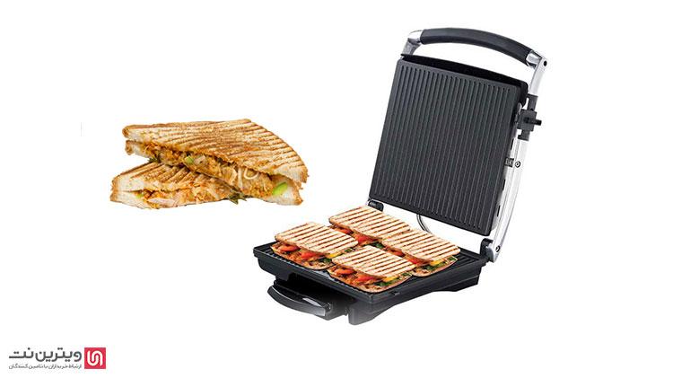 خرید ساندویچ ساز صنعتی از ویترین نت