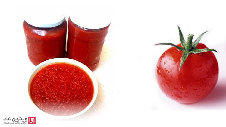 گوجههای له شده یا پوره گوجه تولید شده توسط دستگاه رب گیری خانگی میتواند برای محصولات مختلفی مورد استفاده قرار گیرد.