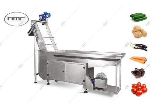 یکی از دستگاه های مورد استفاده در خط شستشوی و بسته بندی هویج  دستگاه توزين و بسته بندی صيفي جات می باشد