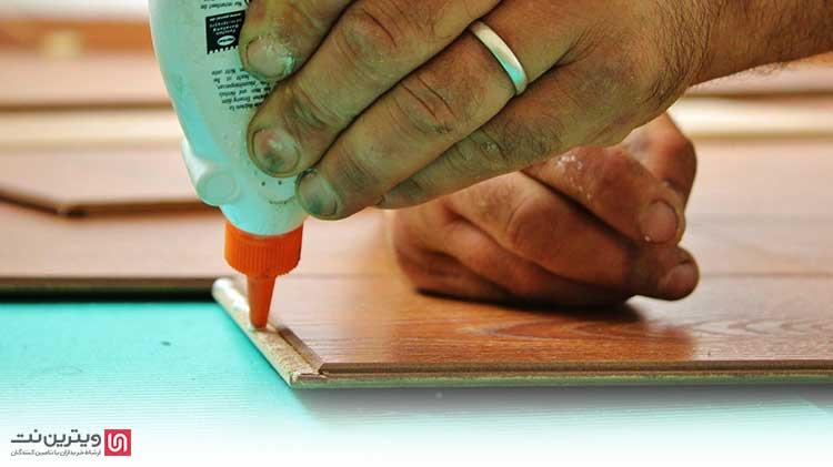 نکاتی برای استفاده از چسب چوب
