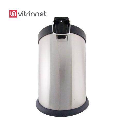سطل زباله استیل دارای ظرفیت 20 لیتر است