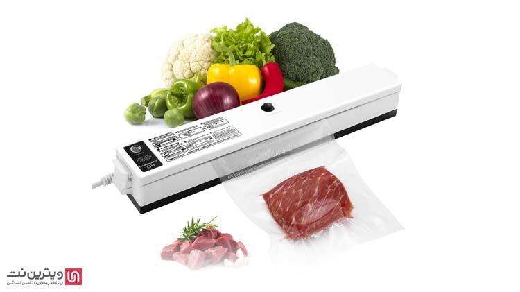 دستگاههای بسته بندی وکیوم خانگی برای بسته بندی گوشت قرمز، مرغ،و مانند آنها استفاده می شود.