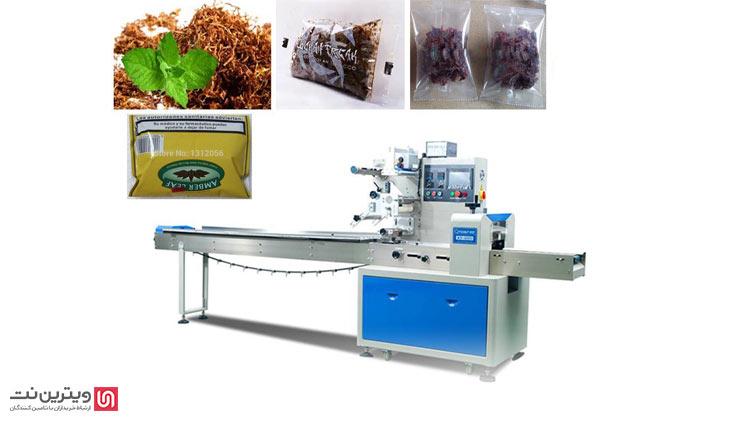 بسته بندی یکی از قسمت های دستگاه تولید تنباکو میباشد. خمیر تنباکو دارای غلظت زیادی است و دستگاه بسته بندی تنباکو به همین دلیل بسیار پیچیده است.