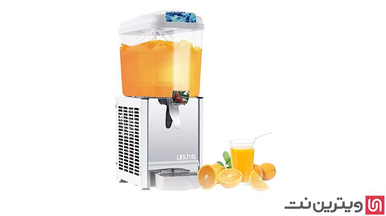 فروش انواع دستگاه شربت سرد کن و شربت ساز در ویترین نت