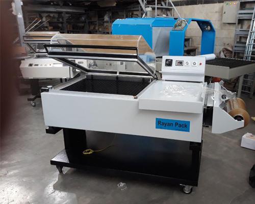دستگاه شیرینگ پک کابینی در صنایع غذایی مورد استفاه قرار میگیرد