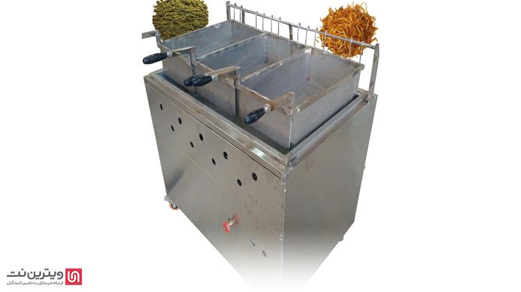 به همین علت دستگاه های سرخ کن صنعتی برای سرخ کردن انواع غذا های عادی و فست فود مورد استفاده قرار می گیرند.