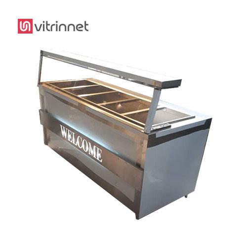 دستگاه کانتر گرم با رف و شیشه بهترین وسیله در فست فود ها و رستورانها میباشد.
