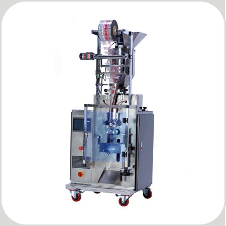 دستگاه بسته بندی ساشه پودری سه و چهار سر دوخت ps107 1 جهت بسته بندی انواع مواد پودری در بسته های ساشه یکبار مصرف سه و چهار سر دوخت کاربرد دارد.