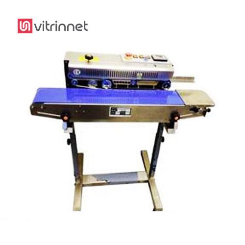 دستگاه دوخت ریلی افقی برای بسته بندی هر نوع کالا با بستههای کوچک قابل استفاده می باشد.