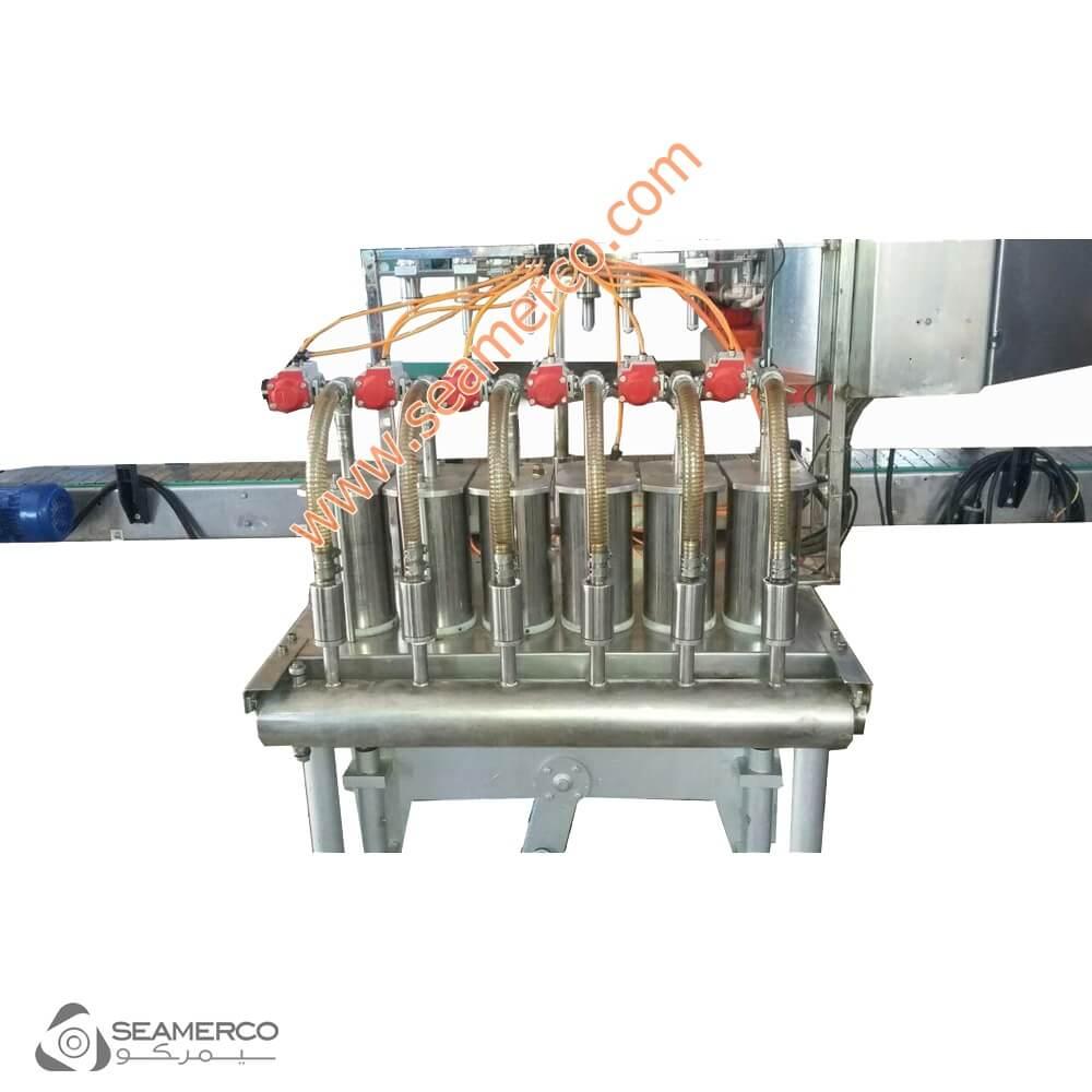 دستگاه قوطی پرکن مایعات-دستگاه پرکن مایعات رقیق-دستگاه پرکن چیست-دستگاه پرکن مایعات نیمه اتوماتیک
