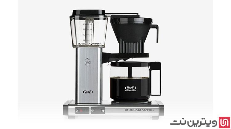 انواع دستگاه قهوه ساز در ویترین نت