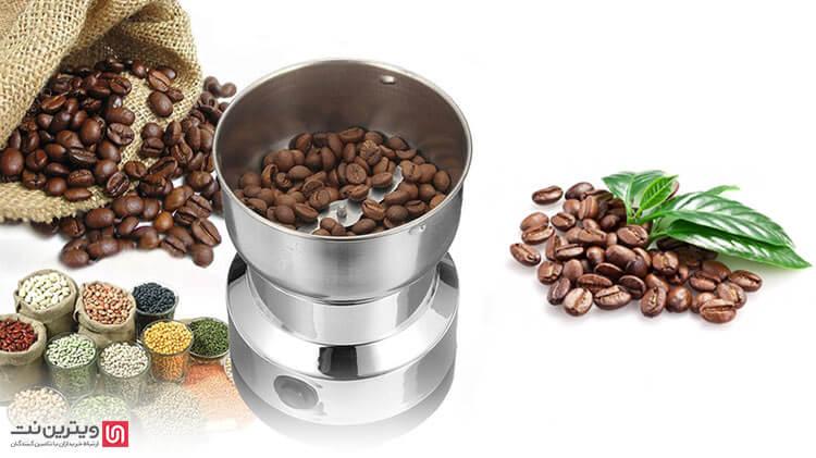 دستگاه آسیاب مواد غذایی مخصوص دانه های سخت، برای پودر کردن انواع ادویه جات سخت مناسب می باشد.