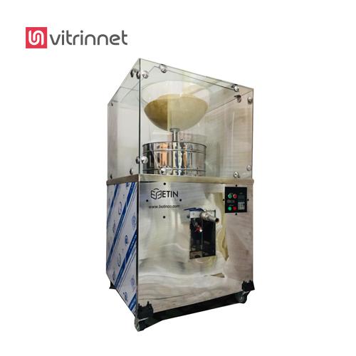 دستگاه ارده گیری فروشگاهی دارای تولید 20 کیلو است.