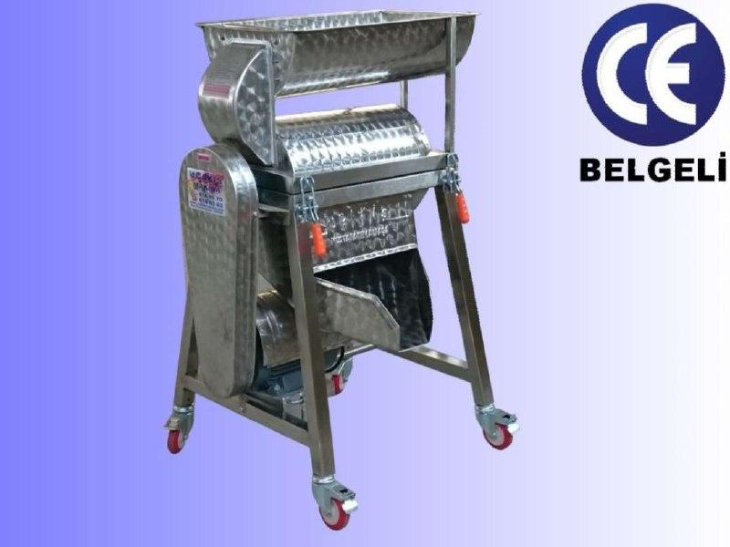 دستگاه آب گوجه گیری یا دستگاه رب گیری یا دستگاه گوجه صاف کن ساخت ایتالیای و ترکیه می باشد