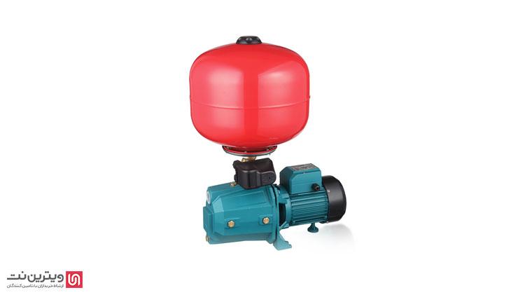 پمپ آب خانگی با مخزن انبساط برای استفاده در شرایطی مناسب است که فشار آب آنقدر کم است که به سختی جریان مییابد.