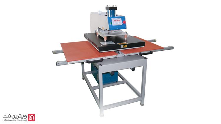 دستگاه پرس حرارتی کلند یا غلطکی بر روی قطعات بزرگ پارچهها همانند بنرها مورد استفاده قرار میگیرند.