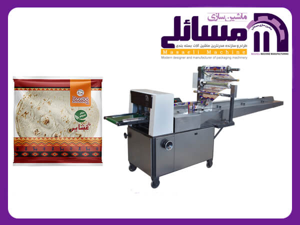 فروش دستگاه بسته بندی نان-دستگاه بسته بندی پک-ماشین الات بسته بندی