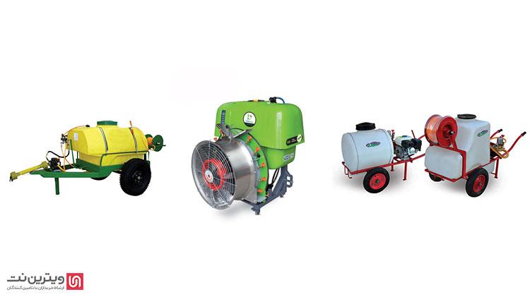 فروش انواع سمپاش موتوری در ویترین نت