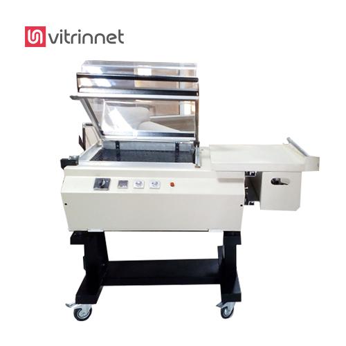 دستگاه بسته بندی شیرینگ پک کابینی یا دستگاه بسته بندی غذا یا سلفون کش غذا برای واحدهای تولیدی کوچک  کاربرد دارد.