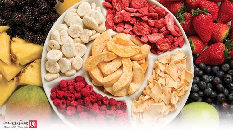 تعداد سینی دستگاه های خشک کن میوه بستگی به ظرفیت آنها دارد هرچه ظرفیت آنها بیشتر باشد تعداد سینی نیز بیشتر است.