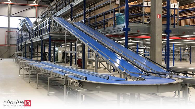دستگاه نوار نقاله چیست؟-دستگاه نوار نقاله جهت جابجایی و انتقال مواد و محصولات در کارخانجات تولیدی و بسته بندی استفاده می شود.